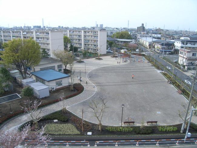 公園改修工事(東京都足立区)